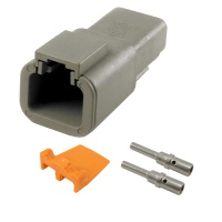 Deutsch DTP04-2P Receptacle Kit