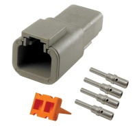 Deutsch DTP04-4P Receptacle Kit