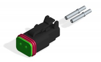 DEUTSCH DT06-2S CONNECTOR