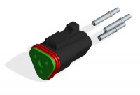 DEUTSCH DT06-3S CONNECTOR KIT