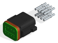 DEUTSCH DT06-8S CONNECTOR KIT