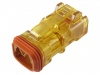 Transparent Deutsch 2 way Plug